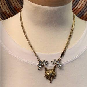 Adorable Fox Face Choker Style Necklace - TopShop